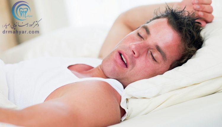 مشکلات تنفس از راه دهان